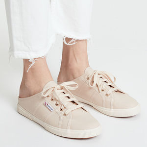 Superga Shoes | Superga Canvas Mule